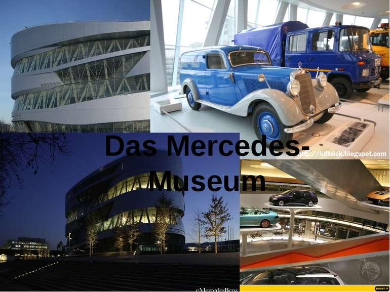 Das Mercedes- Museum