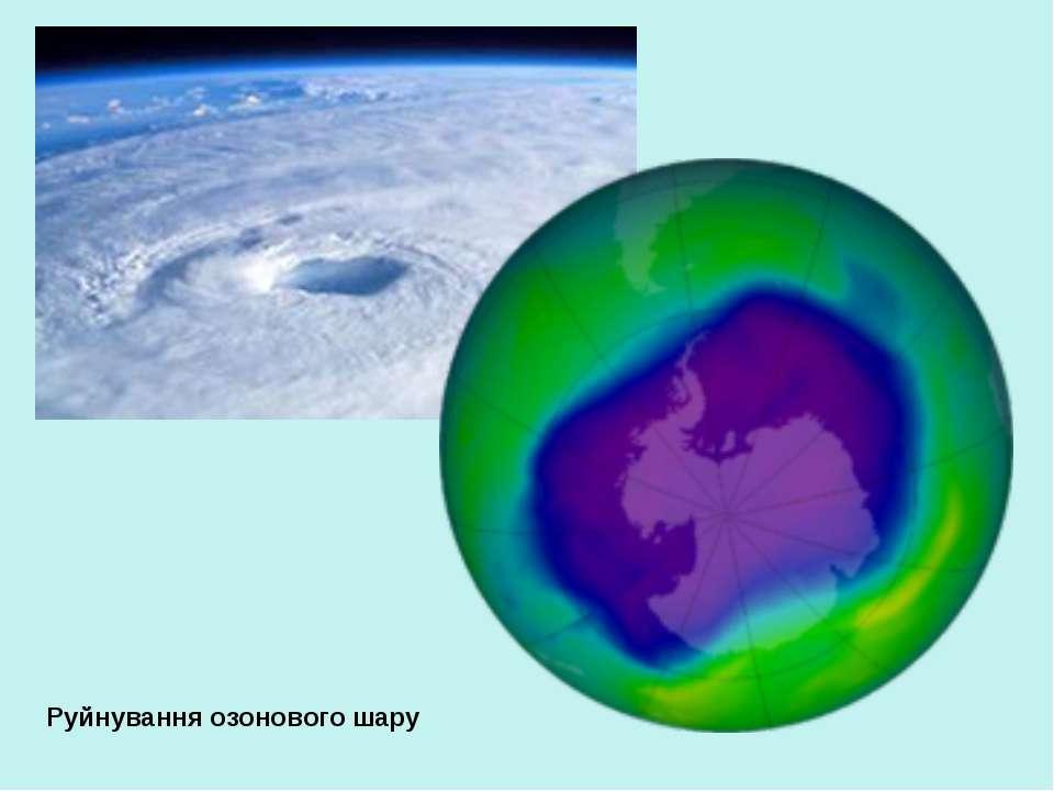 Руйнування озонового шару