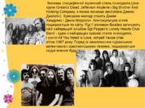 Виникає специфічний музичний стильпсиходелік(рок-групиGrateful Dead,Jeff...