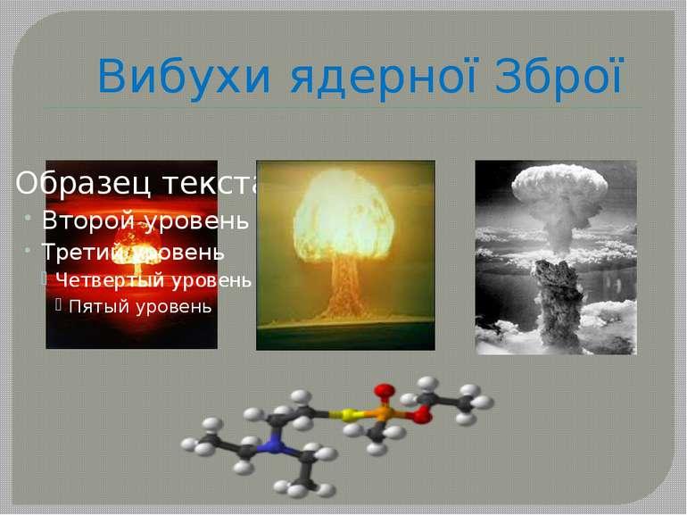 Вибухи ядерної Зброї