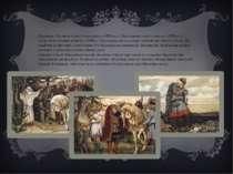 Картини «Зустріч Олега з чаклуном» (1899 р.), «Прощання Олега з конем» (1899 ...