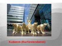 Kudamm (Kurfürstendamm)
