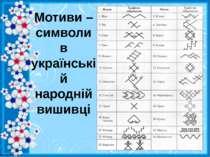 Мотиви – символи в українській народній вишивці http://linda6035.ucoz.ru/