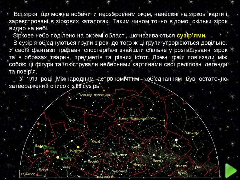 Всі зірки, що можна побачити неозброєним оком, нанесені на зіркові карти і за...