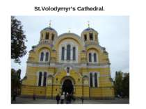 St.Volodymyr's Cathedral.