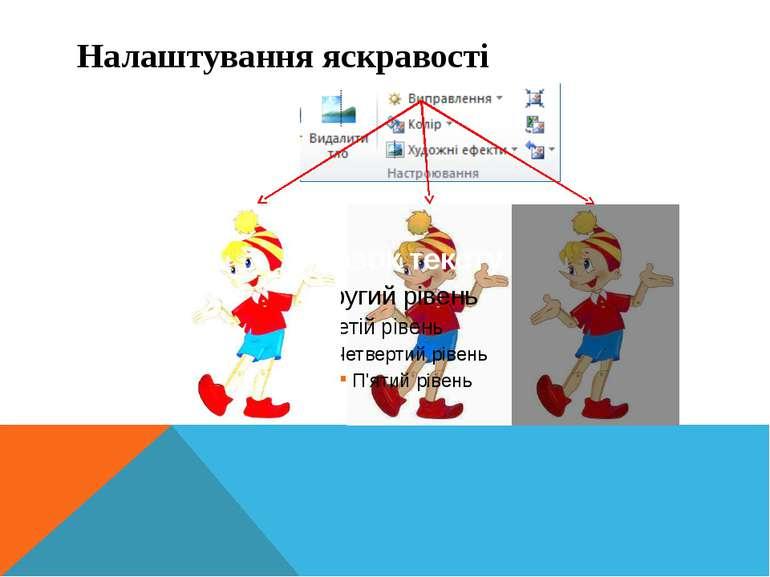Інформатика 5 клас Налаштування яскравості