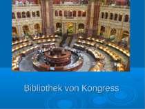 Bibliothek von Kongress