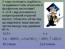 У чому полягають подібність та відмінності між нітратною й фосфатною кислотам...