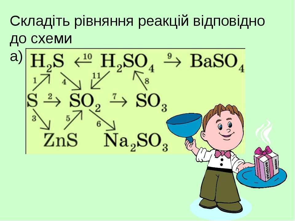 Складіть рівняння реакцій відповідно до схеми а)