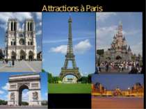 Attractions à Paris