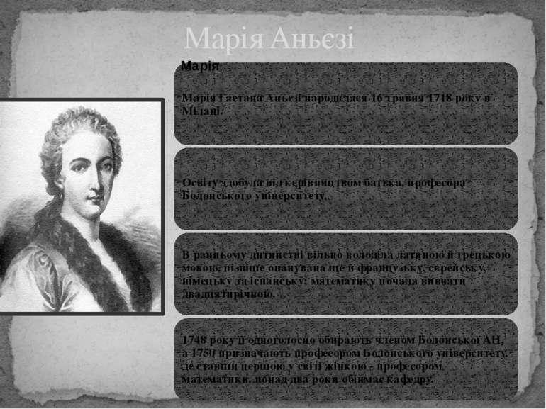 Марія Аньєзі