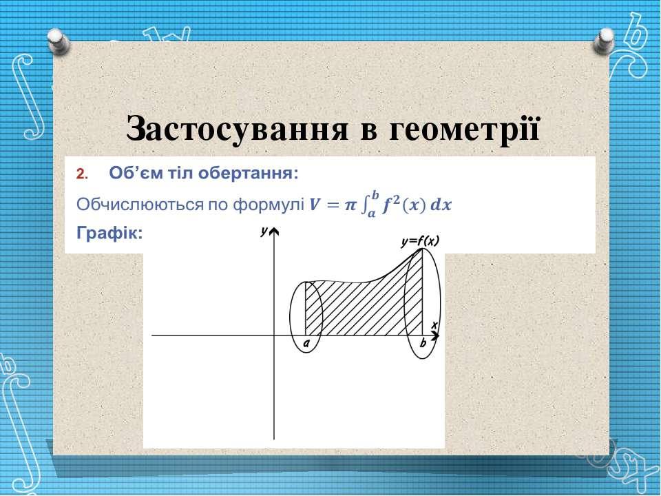 Застосування в геометрії