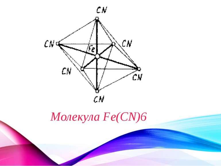 Молекула Fe(CN)6