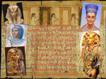 Фараон вважався живимбогом, який після своєїсмерті повинен приєднатися до і...