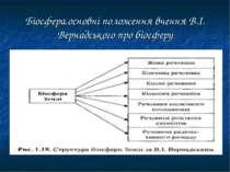 Біосфера,основні положення вчення В.І. Вернадського про біосферу