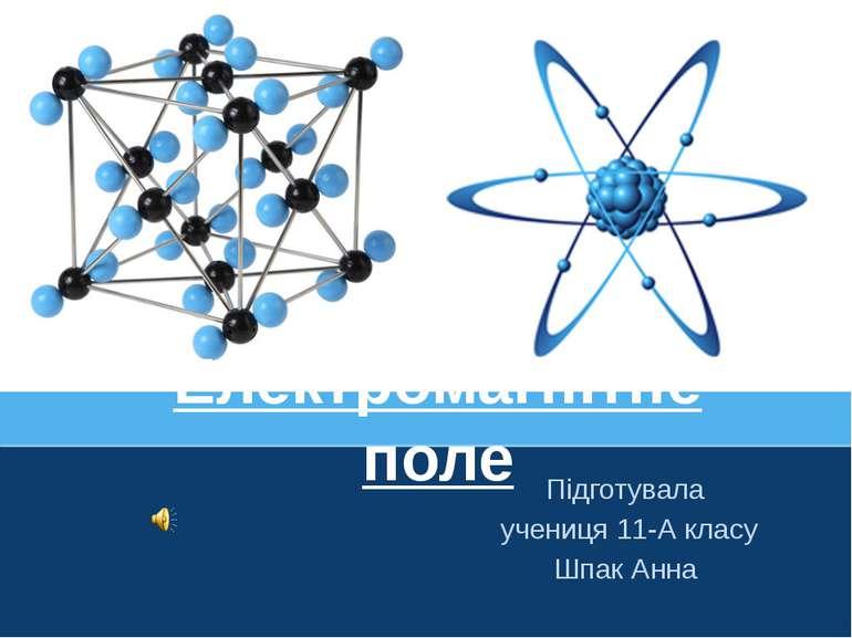 Електромагнітне поле Підготувала учениця 11-А класу Шпак Анна ProPowerPoint.Ru