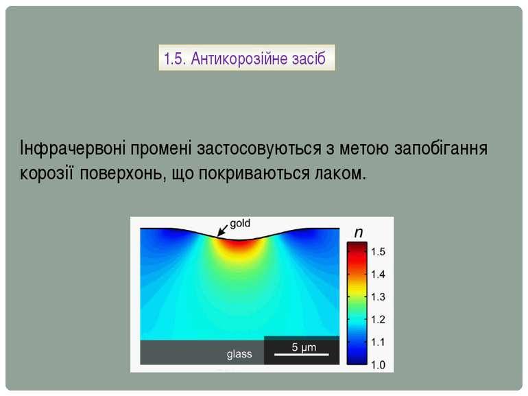 1.5. Антикорозійне засіб Інфрачервоні промені застосовуються з метою запобіга...