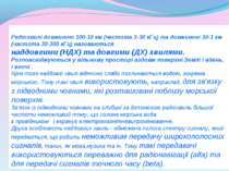 Радіохвилі довжиною 100-10 км (частота 3-30 кГц) та довжиною 10-1 км (частота...