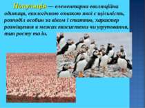 Популяція — елементарна еволюційна одиниця, екологічною ознакою якої є щільні...