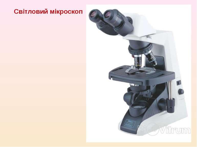 Світловий мікроскоп
