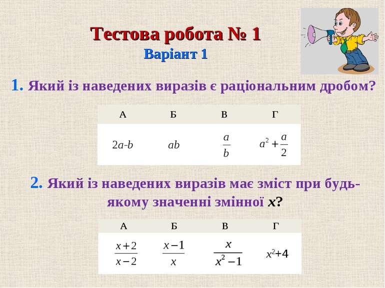 А Б В Г А Б В Г 2a-b ab