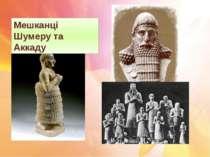 Мешканці Шумеру та Аккаду