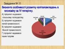 Завдання № 11 Визначте особливості розвитку капіталовкладень в економіку за I...