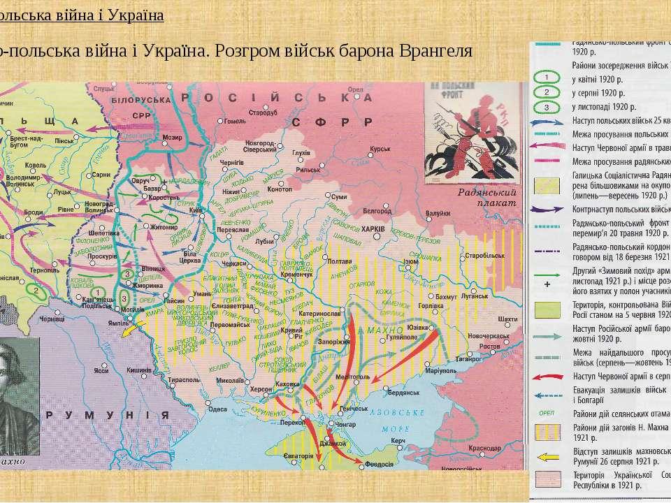 Радянсько-польська війна і Україна. Розгром військ барона Врангеля 4. Радянсь...