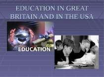 Education in Great Britain and the USA