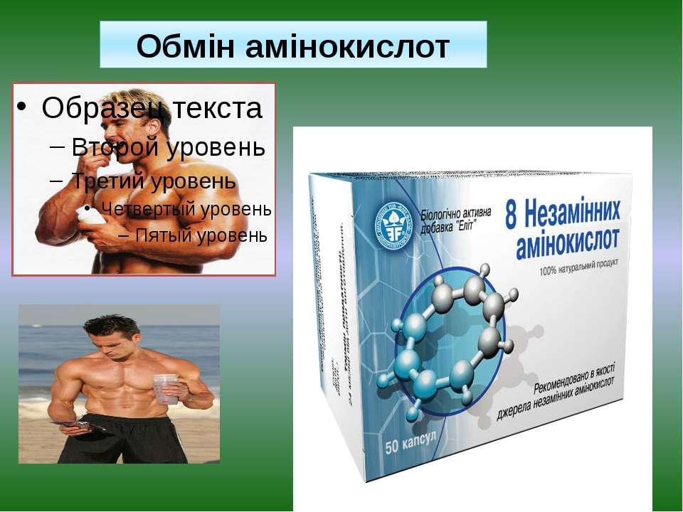 Обмін амінокислот