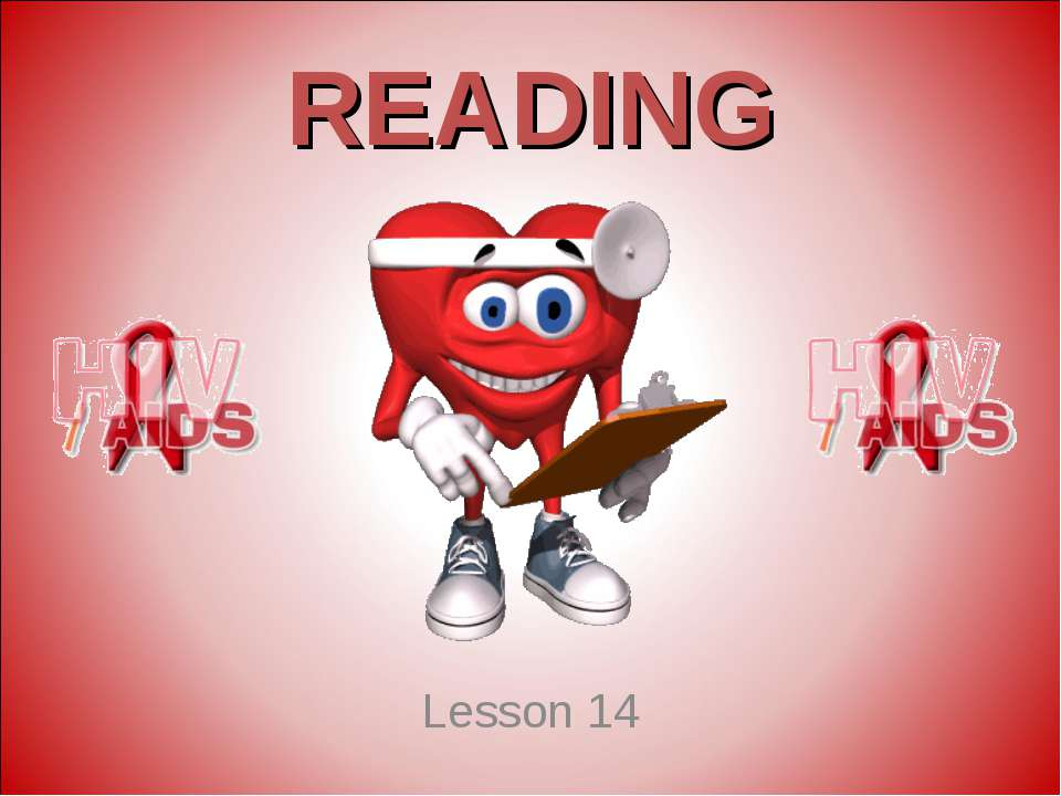 READING Lesson 14