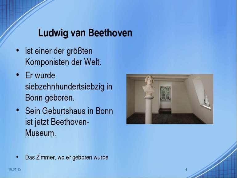 Ludwig van Beethoven ist einer der größten Komponisten der Welt. Er wurde sie...