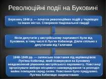 Революційні події на Буковині
