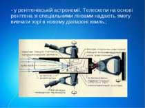 - у рентгенівській астрономії. Телескопи на основі рентгена зі спеціальними л...