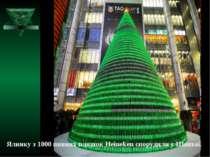 Ялинку з 1000 пивних пляшок Heineken спорудили у Шанхаї.