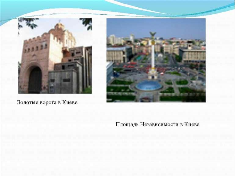 Золотые ворота в Киеве Площадь Независимости в Киеве