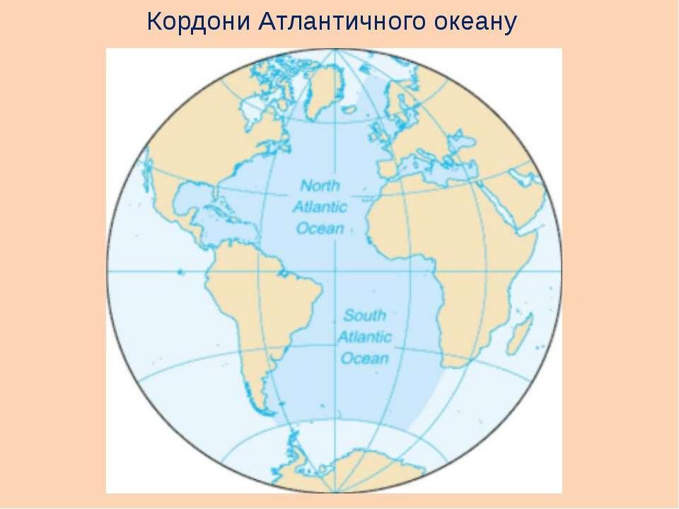 Кордони Атлантичного океану