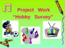 "Project Work ""Hobby Survey"""