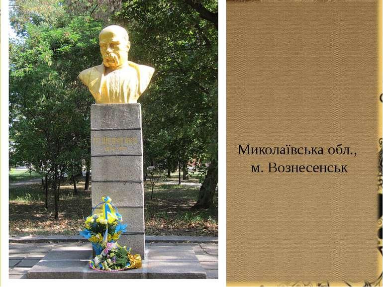 Миколаївська обл., м. Вознесенськ