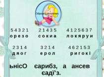 5 4 3 2 1 2 1 4 3 5 4 1 2 5 6 3 7 о р е з о с о к и а л о к я р у и 2 3 1 4 3...