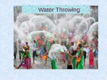 Water Throwing