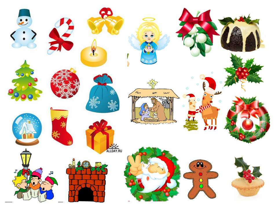 What symbols of Christmas do you know? Let's talk about some of Christmas sym...