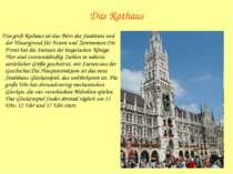 Das Rathaus Das groß Rathaus ist das Büro des Stadtrats und der Hintergrund f...