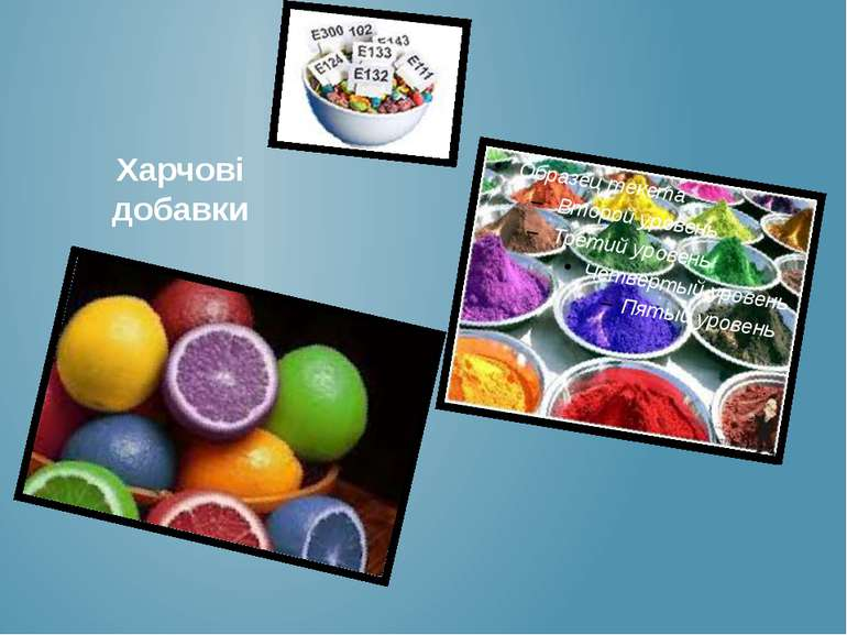 Харчові добавки