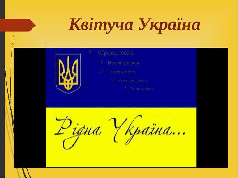 Квітуча Україна