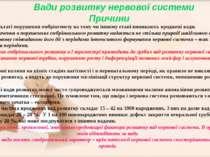В результаті порушення ембріогенезу на тому чи іншому етапі виникають вроджен...