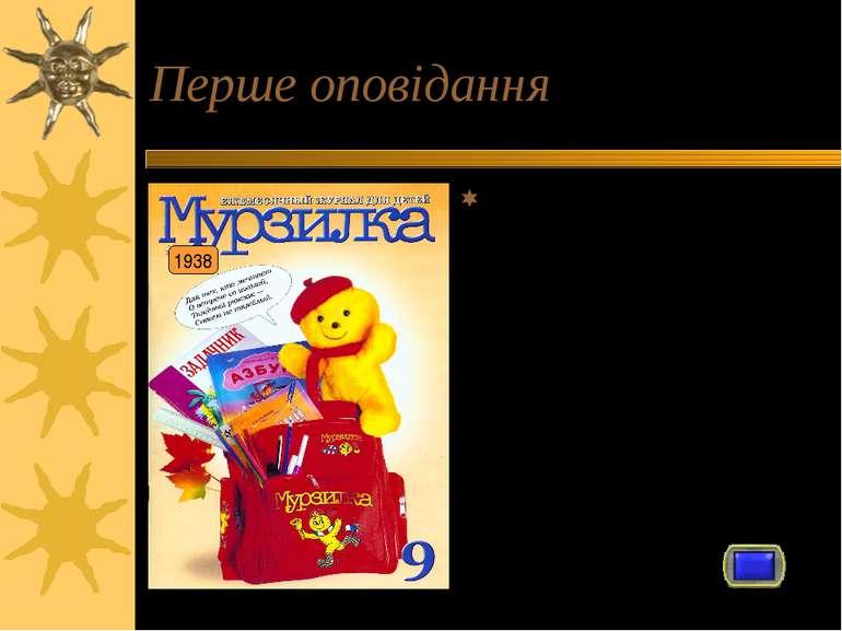 Перше оповідання Як і більшість відомих письменників Микола Носов спочатку пи...