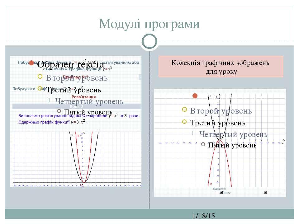 Модулі програми СЗОШ № 8 м.Хмельницького. Кравчук Г.Т. Колекція графічних зоб...
