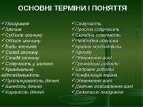 ОСНОВНІ ТЕРМІНИ І ПОНЯТТЯ
