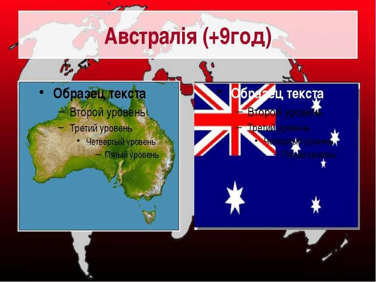 Австралія (+9год)